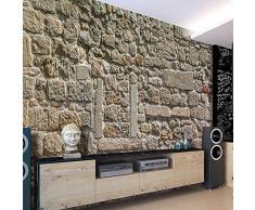 Fotomural 50x35 cm ! Papel tejido-no tejido. Fotomurales - Papel pintado Piedras muro f-A-0329-a-a