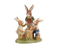 Goebel 2019 Die Malschule - Figura Decorativa, diseño de Conejo de Pascua