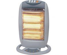 Ardes 454 Piso 1200W Halógeno - Calefactor (Halógeno, 90°, Botones, 1200 W, 400 W, Piso)