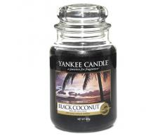 Yankee Candle vela perfumada, coco negro, large
