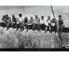 Nueva York - Almuerzo En Lo Alto De Un Rascacielos, 1932 Póster (91 x 61cm)