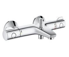 Grohe Grohtherm 800 - Termostato para baño y ducha, control de temperatura, inversor automático (Ref. 34567000)