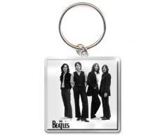 """The Beatles impresión DE fotos DE """"imagen de color blanco con llavero"""