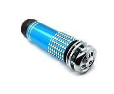 K9M LED Azul coche ambientador de humo Bar de oxígeno purificador de aire ionizador vehículo y con texto en inglés