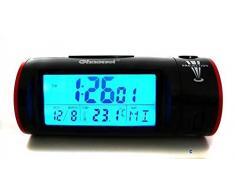Proyección Reloj Despertador radio reloj despertador radio reloj despertador con proyector uhrs