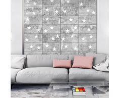 Fotomurales PURO ! Tres colores a elegir - Fotomurales realistas ! !Papel pintado tejido no tejido! !Un panel decorativo! !Fotomural! !Los cuadros para la pared en la dimensión XXL! 10 m ! Estrella Beton f-A-0377-j-b