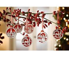 Decoracion para arbol de navidad ( 18 unidades)