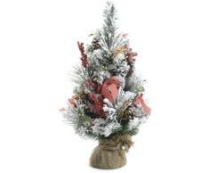 Festive Productions - Juego de árbol de navidad para mesa, diseño con motivos varios y bayas