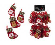 Pequeños calcetines de muñeco de nieve de la Navidad, Santa, oso o reno - decoraciones Homestreet Chrstmas