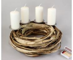 Candelero (Corona de Adviento ratán 32 cm