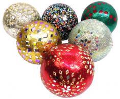 Mg Decor - Bolas decorativas de centro de mesa