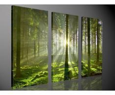 Foto en lienzo APPEALING NATURE Impresión artística en lienzo, creado por Tom Harris, Cuadros en lienzo previamente fijados, listos para ser colgados. AmazonES - Comparable con un cuadro al óleo - y no a un póster o cartel 130x80cm #e2032