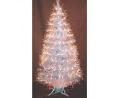 Decoración de Navidad: Arbol de Navidad 150cms de fibra óptica transparente Ref. 200-446