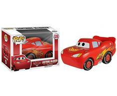 Cars Figura de vinilo Lightning McQueen, colección Disney (Funko 4237)