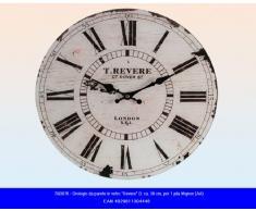 Idea hogar: Reloj de pared vidrio estilo Vintage Revere London Diámetro 38cm