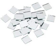 RAYHER - 1453600 - Espejo Mosaico Piedras, 1,5 cm, Cubo Aproximadamente 660 pcs/1 kg