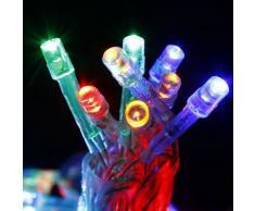 40 led guirnalda de luces Interior Batería colorido Fiesta Boda Navidad