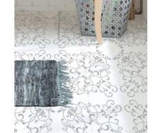 Stencil Pared Baldosa 001. Medidas aproximadas: Medida exterior del stencil: 54 x 54 (cm) Medida del diseño: 50 x 50 (cm)