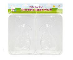 3 x Paquetes de huevos de Pascua moldes para Chocolate grande pequeño Mini conejo forma