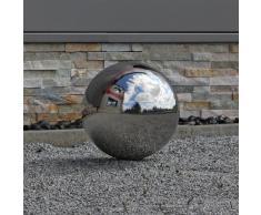 CLGarden Bola de acero inoxidable pulido con un diámetro de 30cm, bola flotante, Óptima decoración de la pelota de jardín.