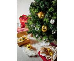 Alessi AMJ14SET3G Angioletto e Stella Cometa árbol de Navidad Juego de Bolas y 2 pcs, Cristal
