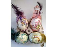 4 Huevos de Pascua gallina 19 de creacion-giselle.com