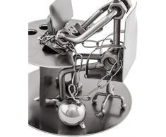 Brubaker – Portalápices workaholic metal Escultura