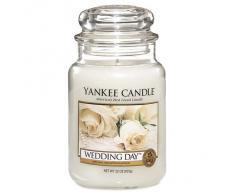 Yankee Candle vela aromática en tarro grande, día de boda, duración de combustión de hasta 150horas