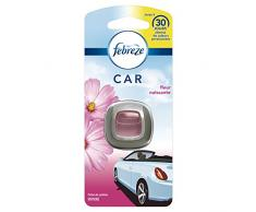 Febreze - Difusor de ambientador para coche aroma a flor naciente.
