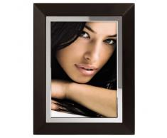 Hama Hamilton 57664 - Marco de fotos de madera (13 x 18 cm), color marrón