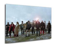 Instabuy Poster - Serie TV - La casa de Papel Part 3 - Characters A3 42x30