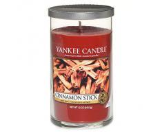 Yankee Candle vela de pilar mediana, Palo de canela, rojo