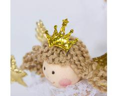 fghfhfgjdfj Precioso ángel Lindo muñeca árbol de Navidad Decoraciones Adornos Mesa Escritorio decoración para el Dormitorio en casa