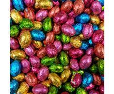 Sólido Chocolate Con Leche Foil Huevos De Pascua x 500g (Aprox 100 Huevos), Huevo De Pascua Hunts y Regalos