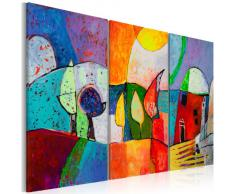 100% pintados a mano - cuadro pintado a mano + fotos directamente del artista + pintura + pinturas de paredes modernas + dise?os únicos e irrepetibles - cuadro en lienzo + tríptico 3 partes + abstracción + 5520 + 120x80 cm +++