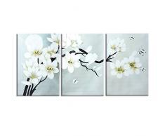 Cuadro de flores compra barato cuadros de flores online en livingo - Lienzos para dormitorios ...