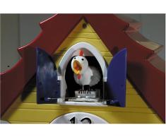 HeadsUp Design - Reloj de cuco, diseño de gallina