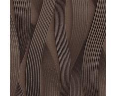 Muestra de papel pintado EDEM 81130-series   Papel pintado con rayas tono sobre tono y acentos metálicos, S-81130BRXX:S-81130BR26