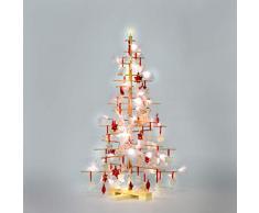 Unbekannt xmas3 SKU202 M 125 - Árbol de Navidad, Color Beige