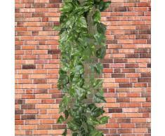 Ecloud Shop® Guirnalda Artificial Hiedra Verde Decoración Fiesta Boda Ventana