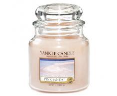 Yankee Candle vela en tarro mediano, Arenas rosas