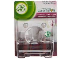 Air Wick Ambientador eléctrico recambio Duplo Lirio de Luna - Paquete de 2 x 19 ml - Total: 38 ml
