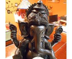 Zenarôme - Fuente para interior con Meditación Ganesha LED multicolor aprox. 30 cm de altura