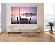 Cuadro sobre lienzo - 3 piezas - Impresión en lienzo - Ancho: 165cm, Altura: 110cm - Foto número 2593 - listo para colgar - en un marco - CE165x110-2593