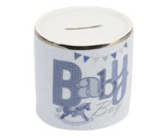 De cerámica de bebé tablero para aprender el Salat Hucha en forma de, de cumpleaños para, de felicitación para bautizo, con gorro de Papá Noel, papel de regalo en cualquier momento