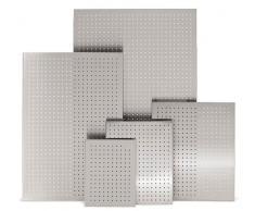 Blomus 66752 - Pizarra magnética perforada, aluminio, 50 x 60 cm