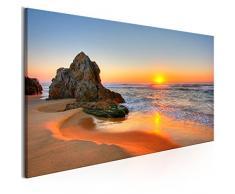 murando Bilder Playa 135x45 cm - Impresion en calidad fotografica - 1 Parte - Cuadro en lienzo tejido-no tejido - Paisaje c-B-0334-b-a