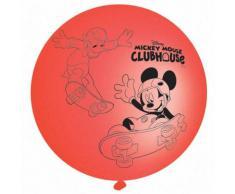 Amscan - Juego de globos grandes para fiestas, diseño de Mickey Mouse y Donald