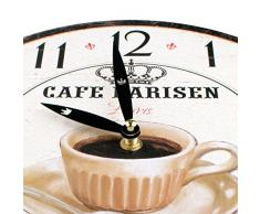 Planetareloj - Reloj de pared café
