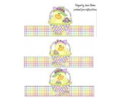 Soporte para huevos de Pascua, patos pantalla 3 por Janice SHEHAN